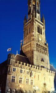 Věž Belfry ze 13. století