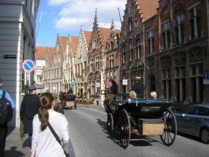 Ulice v historické čtvrti