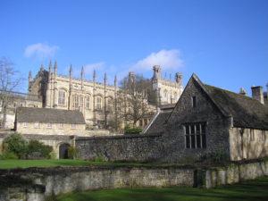 Christ Church, ve kterém se natáčely některé scény filmu Harry Potter