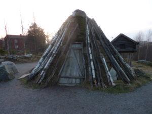 Sámské obydlí