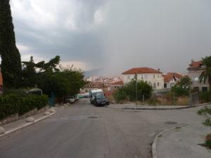 Déšť se blíží.