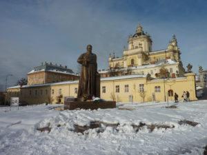 Svatý Jiří pod sněhem